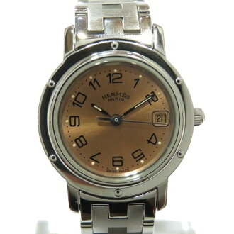 Hermes clipper watch watch Lady's stainless steel (SS) (CL4.210) | HERMES BRANDOFF brand off-brand brand clock brand watch clock