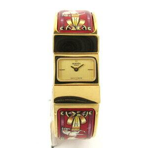 【中古】エルメスロケウォッチ腕時計レディースGP(LO1.201)