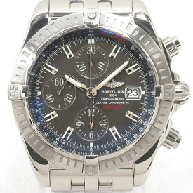 【中古】 ブライトリング クロノマット・エボリューション 腕時計 ウォッチ メンズ ステンレススチール (SS) (A13356) | BREITLING BRANDOFF ブランドオフ ブランド ブランド時計 ブランド腕時計 時計