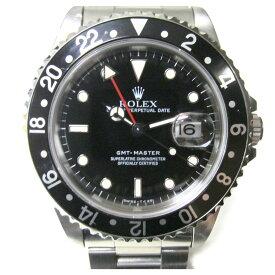 【中古】 ロレックス GMTマスター1 腕時計 ウォッチ メンズ ステンレススチール (SS) (16700)   ROLEX BRANDOFF ブランドオフ ブランド ブランド時計 ブランド腕時計 時計