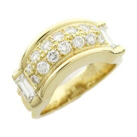 【中古】ピアジェ ダイヤモンド リング 指輪 レディース K18YG (750) イエローゴールド x | PIAGET BRANDOFF ブランドオフ ブランド ジュエリー アクセサリー