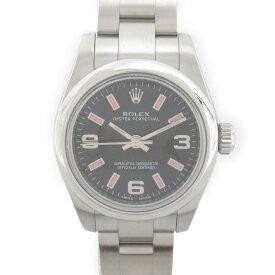 【中古】ロレックス オイスター パーペチュアル ウォッチ 腕時計 レディース ステンレススチール(SS) (176200 G番)