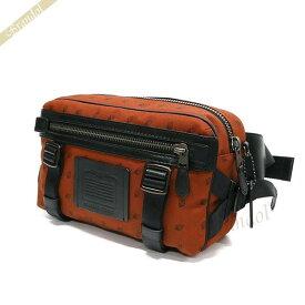 コーチ COACH メンズ ボディバッグ ユーティリティー パック ウェストバッグ オレンジ系 F29499 JINJR | コーチアウトレット コンビニ受取 ブランド