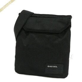 ディーゼル DIESEL メンズ ショルダーバッグ CLOSE RANKS F-CLOSE CROSS II サコッシュ ブラック X04327 PR027 T8013 | 2017年春夏新作 コンビニ受取 ブランド