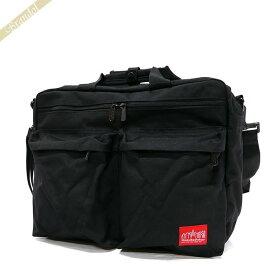 マンハッタンポーテージ Manhattan Portage メンズ ビジネスバッグ Tribeca bag M 3way ショルダーバッグ ブラック 1446ZH BLACK | ブランド