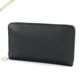 ブルガリ BVLGARI 財布 メンズ・レディース ラウンドファスナー長財布 レザー ブラック 36933 BLK | ブランド