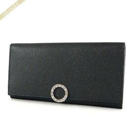 ブルガリ BVLGARI 財布 メンズ・レディース 長財布 ブルガリ・ブルガリ パスケース付 レザー ブラック 30412 BLK | ブランド