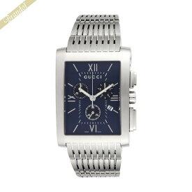 《1800円OFFクーポン対象_10月25日23:59迄》グッチ GUCCI メンズ腕時計 Gメトロ G-Metoro Chrono クロノグラフ ネイビー YA086318 | ブランド