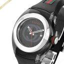 グッチ GUCCI メンズ・レディース メンズ腕時計 SYNC グッチシンク 36mm ブラック×グリーン×レッド YA137301 | コンビニ受取 ブランド