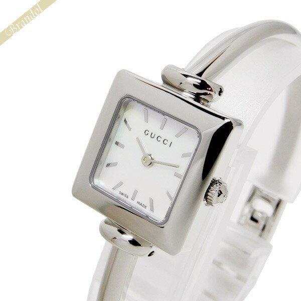 グッチ GUCCI レディース腕時計 1900 20mm ホワイトパール YA019518 【ブランド】