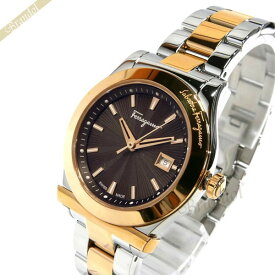 フェラガモ Ferragamo レディース 腕時計 1898 33mm ブラウン×シルバー×ゴールド FF3300016 | ブランド