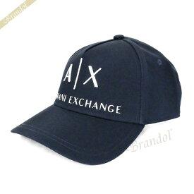 アルマーニエクスチェンジ ARMANI EXCHANGE メンズ 帽子 AX ロゴ キャップ ネイビー 954039 CC513 37735 | コンビニ受取 xcp2 ブランド