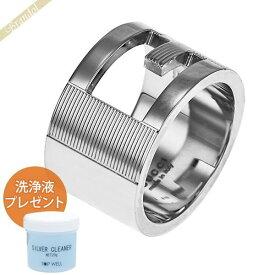 グッチ GUCCI メンズ・レディース 指輪 ブランデッドG ワイドリング シルバー 032666 09840 8106 | コンビニ受取 xcp9 ブランド