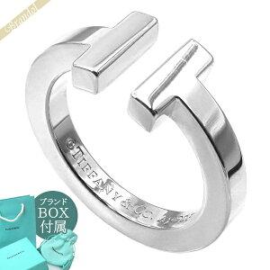 ティファニー Tiffany メンズ・レディース 指輪 ティファニーT スクエアリング シルバーリング [7号/8号/9号/10号/11号] SS T SQUARE | ブランド