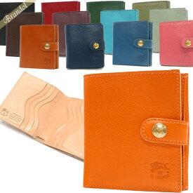 イルビゾンテ IL BISONTE 財布 メンズ 二つ折り財布 本革 レザー 各色 C0955 | コンビニ受取 ブランド