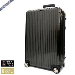 《最大750円クーポン》リモワ スーツケース RIMOWA SALSA DELUXE サルサ デラックス TSAロック対応 縦型 87L Lサイズ ブラウン 830.73.33.4 | ブランド