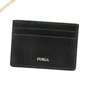 フルラ FURLA レディース カードケース BABYLONE バビロン レザー ブラック PU01 B30 O60 / 922281 | ブランド