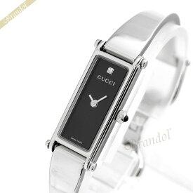 《最大900円クーポン_3日23:59迄》グッチ 腕時計 GUCCI レディース 1500 1Pダイヤ ブラック YA015555   ブランド