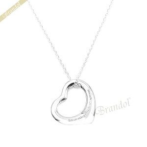 ティファニー ネックレス Tiffany オープンハート ペンダント シルバー 10660092 | ブランド