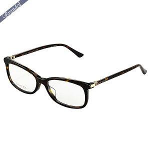 グッチ GUCCI メンズ メガネフレーム スクエア型 セルフレーム マーブル柄 ブラウン GG0296OA-002 | ブランド