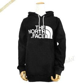 ザ・ノースフェイス THE NORTH FACE レディース パーカー Drew Peak Hoodie ロゴ ブラック T935VG JK3 | ブランド