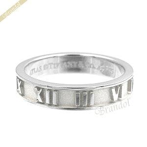 ティファニー リング Tiffany 指輪 Atlas アトラス ナローバンド [7号/8号/9号/10号/11号/13号/14号/17号/19号/20号/21号/ 23号] シルバー SS NRW CLSD ATLAS 4 / 23416611 | ブランド