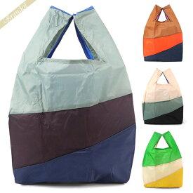 ヘイ×スーザンベル HAY×SUSAN BIJL エコバッグ SIX-COLOUR BAG Lサイズ 6色 マルチカラーストライプ トートバッグ | ブランド