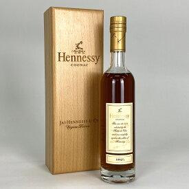 【店内最大70%OFF3/4 20:00-3/11 1:59迄】 ヘネシー Hennessy 1950 木箱 350ml ブランデー コニャック 【古酒】