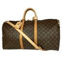 ルイ・ヴィトン Louis Vuitton キーポル バンドリエール 55 ハンドバッグ ショルダーバッグ 斜め掛け 旅行 出張 ボス…