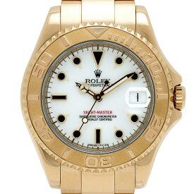 ロレックス ROLEX ヨットマスター 68628 腕時計 YG 自動巻き ホワイト ボーイズ 【中古】