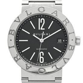 ブルガリ BVLGARI ブルガリブルガリ BB38SS 腕時計 SS 自動巻き ブラック メンズ 【中古】