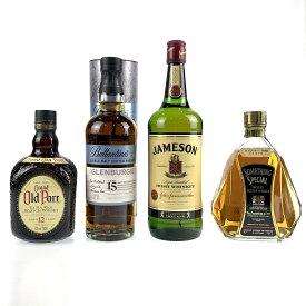 4本 アイリッシュ スコッチ ウイスキー セット 【中古】