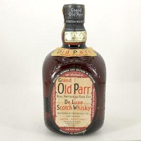 【在庫一掃】 オールドパー Old Parr デラックス 760ml スコッチウイスキー ブレンデッド 【中古】
