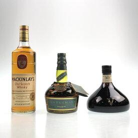 3本 MACKINLAY'S ダンヒル CHIVAS スコッチ ウイスキー セット 【中古】