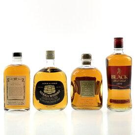 【東京都内限定発送】 4本 ニッカ NIKKA 国産 ウイスキー セット 【中古】