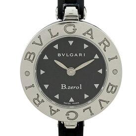 ブルガリ BVLGARI ビーゼロワン バングルウォッチ BZ22S 腕時計 SS クオーツ ブラック レディース 【中古】