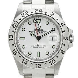 ロレックス ROLEX エクスプローラー2 16570 腕時計 SS 自動巻き 白文字盤 メンズ 【中古】