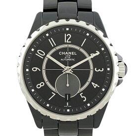 シャネル CHANEL J12 黒セラミック H3836 腕時計 SS セラミック 自動巻き ブラック メンズ 【中古】