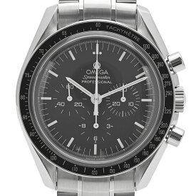 オメガ OMEGA スピードマスター ムーンウォッチ アポロ11号 3560.50 腕時計 SS 手巻き ブラック メンズ 【中古】