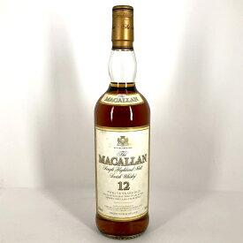 20%OFF マッカラン MACALLAN 12年 旧 750ml スコッチウイスキー シングルモルト 【中古】