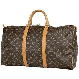 ルイ・ヴィトン Louis Vuitton キーポル 50 ハンドバッグ 旅行 出張 ビジネス ボストンバッグ モノグラム ブラウン M41426 レディース 【中古】