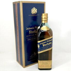 ジョニーウォーカー JOHNNIE WALKER ブルーラベル 750ml スコッチウイスキー ブレンデッド 【中古】