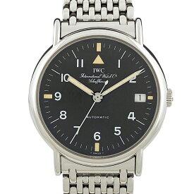 インターナショナルウォッチカンパニー IWC ポートフィノ 3513.022 腕時計 SS 自動巻き ブラック メンズ 【中古】