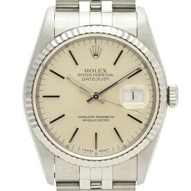 ロレックス ROLEX デイトジャスト 16234 腕時計 SS 自動巻き シルバー ユニセックス 【中古】