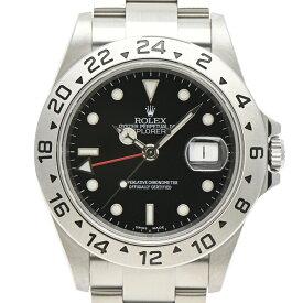 2%OFF ロレックス ROLEX エクスプローラー2 16570T 腕時計 SS 自動巻き ブラック メンズ 【中古】 msp29perb