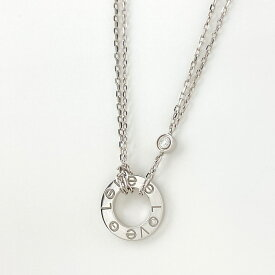 カルティエ CARTIER ダイヤモンド デザインネックレス K18ゴールド ネックレス K18ゴールド レディース 【中古】