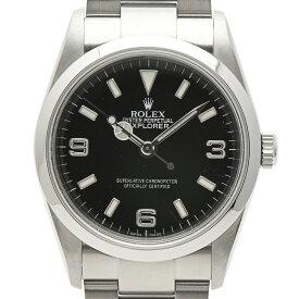 ロレックス ROLEX エクスプローラー1 114270 腕時計 SS 自動巻き ブラック メンズ 【中古】