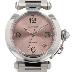 カルティエ CARTIER パシャC W31075M7 腕時計 SS 自動巻き ピンク レディース 【中古】