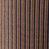 30%OFF 小紋美品秀品縦縞赤茶袷身丈 153.5cm sleeve and shoulder width plus the length from shoulder to hem 64.5cm M pure silk fabrics