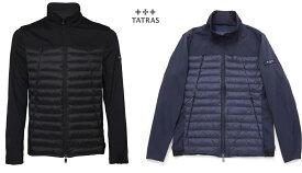 TATRAS タトラス メンズ ライトダウン ショート丈ジャケット LEVANTO 全2色 ブラック ネイビー  MTK19S4168